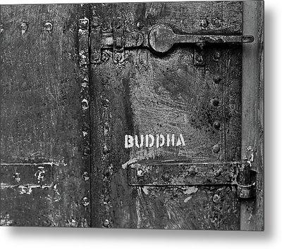 Buddha Metal Print by Laurie Stewart