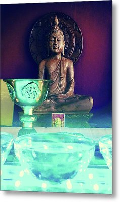 Buddhism Metal Print by Contemporary Art