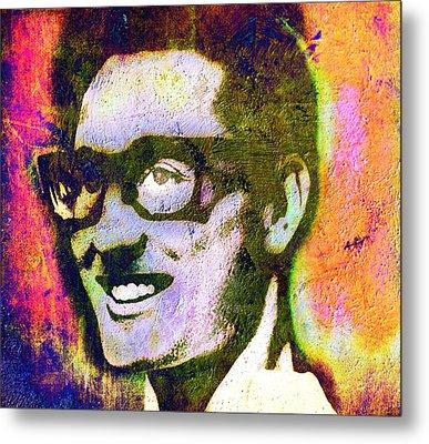 Buddy Holly 2 Metal Print by Otis Porritt