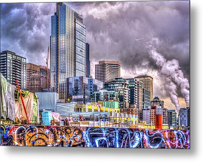 Building Seattle Metal Print by Spencer McDonald