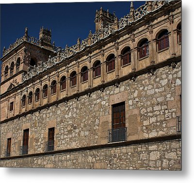 Metal Print featuring the photograph Building Trim by Farol Tomson