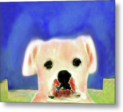 Bulldog Rana Art 7 Metal Print