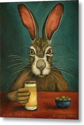 Bunny Hops Metal Print