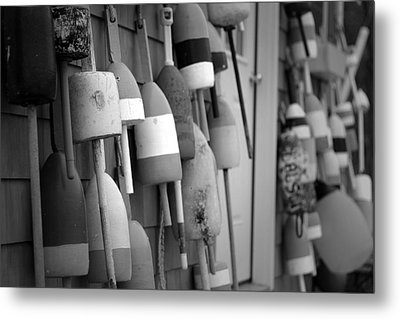 Buoys Metal Print by Eric Gendron