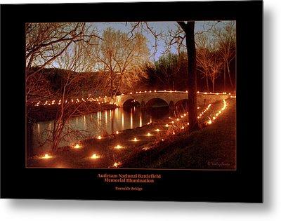 Burnside Bridge 96 Metal Print by Judi Quelland