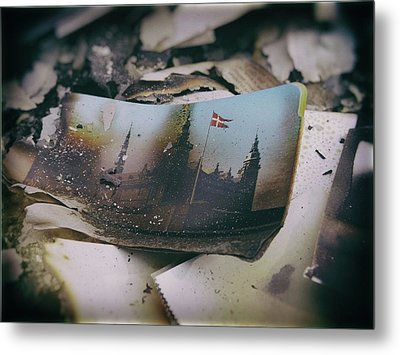 Burnt Metal Print by Karen Stahlros