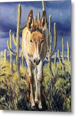 Burro Baby Blues Metal Print