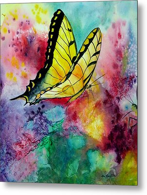 Butterfly 2 Metal Print by Dee Carpenter