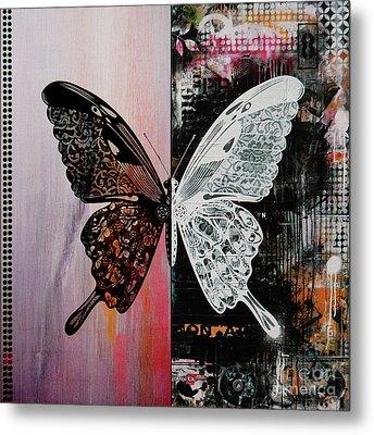 Butterfly Art 45h Metal Print by Gull G