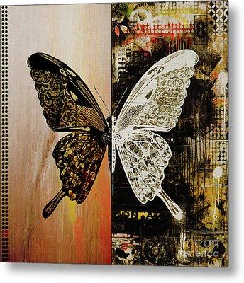 Butterfly Art 78y Metal Print by Gull G