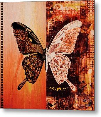 Butterfly Art 88u Metal Print by Gull G
