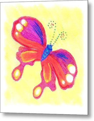 Butterfly Metal Print by Chandelle Hazen