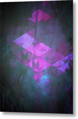 Metal Print featuring the digital art Butterfly Dreams by Mimulux patricia no No