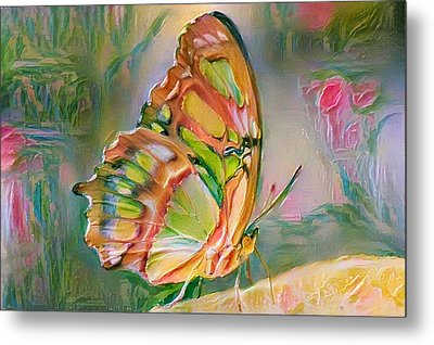 Butterfly Of Paradise 2 Metal Print by Yury Malkov