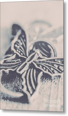 Butterfly Shaped Charm Metal Print by Jorgo Photography - Wall Art Gallery