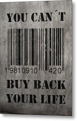 Buy Back Metal Print by Nicklas Gustafsson
