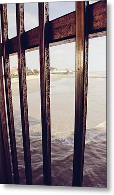 Metal Print featuring the photograph By The Sea by Trish Mistric