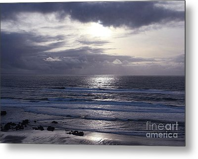 By The Silvery Light Metal Print by Sheila Ping