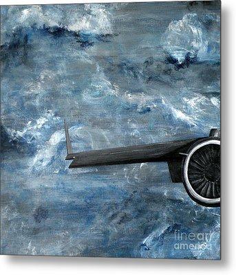 C-17 Globemaster IIi- Panel 1 Metal Print