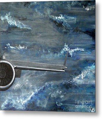 C-17 Globemaster IIi- Panel 4 Metal Print