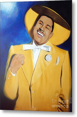 Cab Calloway In Color Metal Print by Chelle Brantley