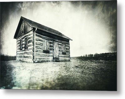 Metal Print featuring the photograph Cabin Near Paradise Springs - Kettle Moraine State Forest by Jennifer Rondinelli Reilly - Fine Art Photography
