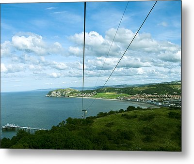 Cable Lift Metal Print by Svetlana Sewell