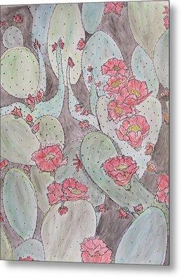 Cactus Voices #2 Metal Print