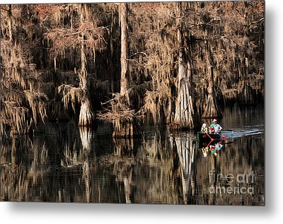 Caddo Lake Texas 1 Metal Print by Bob Christopher