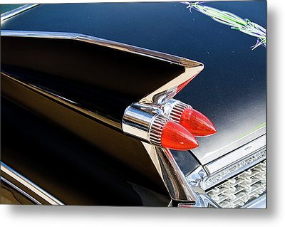 Caddy Fin Metal Print by Terry Thomas