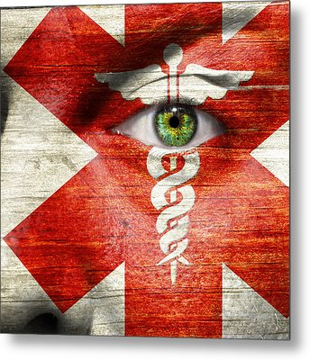 Caduceus  Metal Print by Semmick Photo