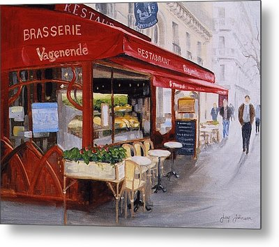 Cafe 4 Metal Print by Jay Johnson