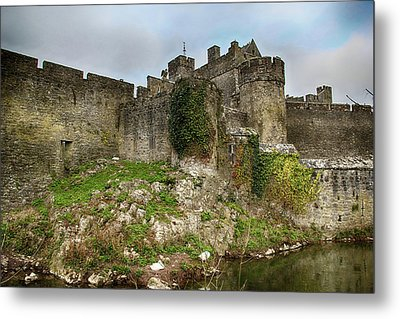 Metal Print featuring the photograph Cahir Castle by Marie Leslie