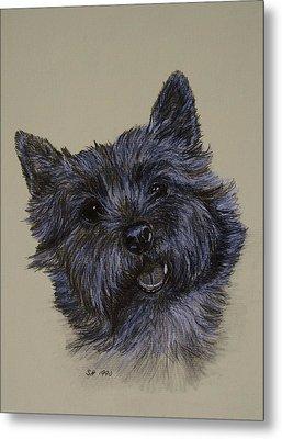 Cairn Terrier Metal Print