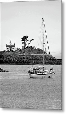 Cali Coast Crescent City 3 Metal Print