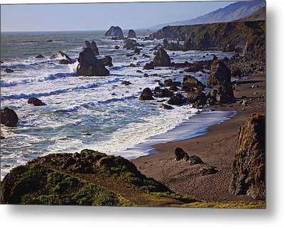 California Coast Sonoma Metal Print by Garry Gay