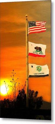 California Glory Metal Print by Richard Gordon