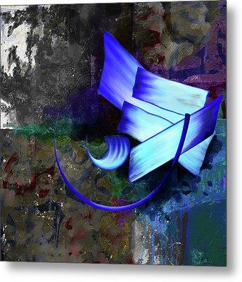 Calligraphy 33 Metal Print by Mawra Tahreem