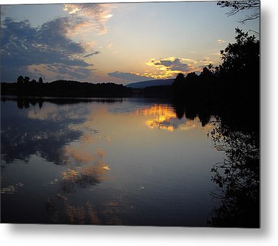 Calm Sunset Metal Print by Vilas Malankar