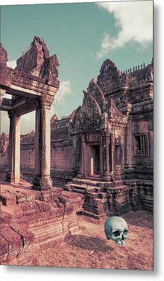 Cambodian Blue Metal Print by Joseph Westrupp
