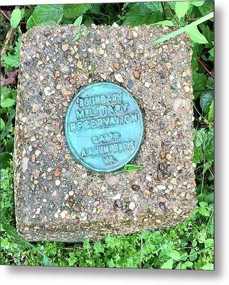 Camp A.a. Humphreys Metal Print