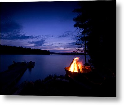 Campfire Metal Print by Cale Best