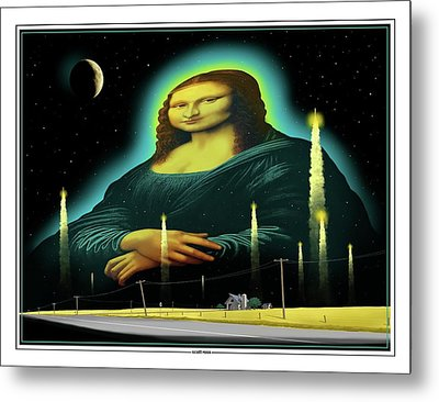 Candles For Mona Metal Print by Scott Ross