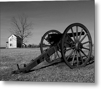 Cannon And The Henry House I Metal Print by Steven Ainsworth