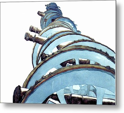 Cannons At Valley Forge Metal Print by Saundra Lee York