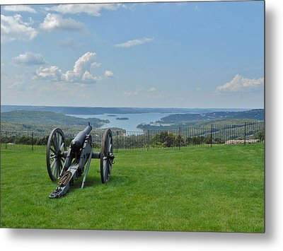 Cannons Ready Metal Print
