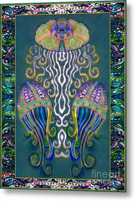 Canopy Under The Sea Metal Print by Wbk