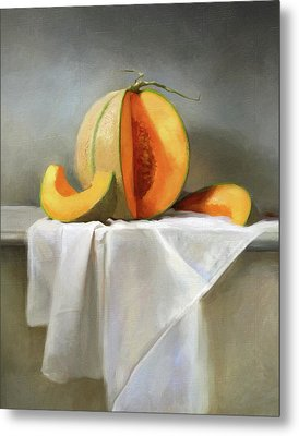 Cantaloupes Metal Print