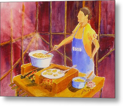 Cantina Kitchen Metal Print by Buster Dight