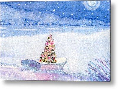 Cape Cod Christmas Tree Metal Print by Joseph Gallant
